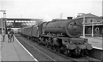 TQ2182 : Willesden Junction, with Up Wolverhampton express by Ben Brooksbank