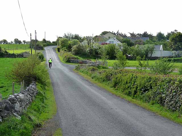 Country road south of Ballintober
