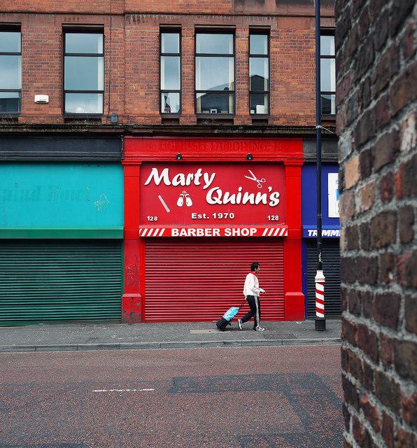 Barber shop, Belfast