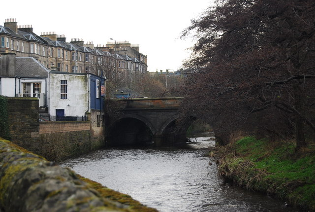 Bridge over the Water of Leith, Warriston by N Chadwick