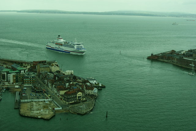 View From the Spinnaker Tower, Portsmouth, Hampshire