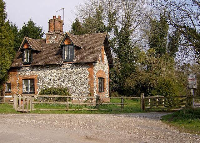 Estate cottage at Laverstoke