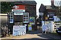 TG1100 : Pedestrian entrance at Wymondham Station by Glen Denny