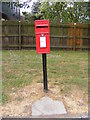 TM2445 : 3a Hilton Road Postbox by Adrian Cable