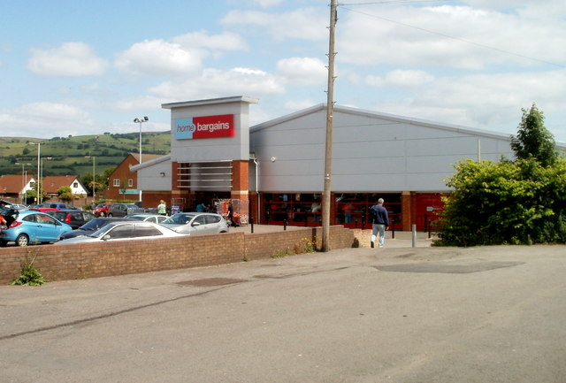 Home Bargains Caerphilly C Jaggery Geograph Britain And Ireland