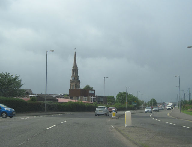 A8 at Port Glasgow