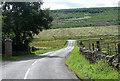 NY7286 : Country road near Falstone (1) by Stephen Richards