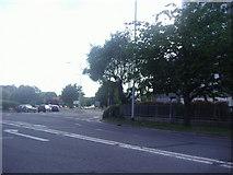 TL0506 : Entrance to the Plough Roundabout, Hemel Hempstead by David Howard