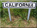 TM2855 : California sign by Adrian Cable