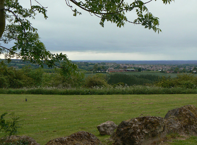 View from Breedon Priory