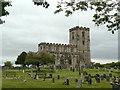 SK4023 : Breedon Priory Church by Alan Murray-Rust