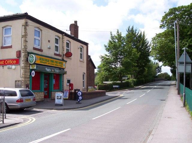 Burscough Post Office on Square Lane