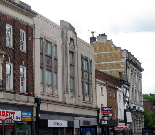 Former Woolworth's Building, Walsall.