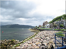 NS0964 : Shoreline along A844 by John Firth