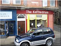 NS0964 : Kettledrum Cafe opposite Albert Pier by John Firth