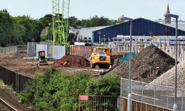 New train maintenance depot, Belfast (1)