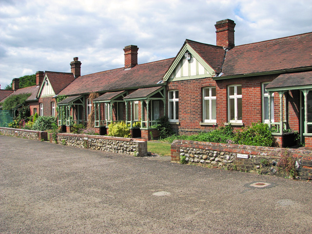 The Great Hospital - almshouses