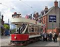 NZ2155 : Alighting from the tram by Pauline E