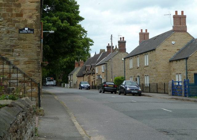 Village Main Street, Heath