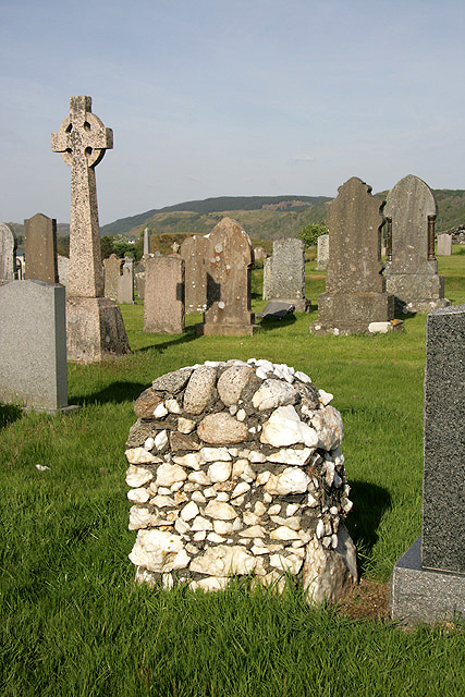 A graveyard at Balvicar