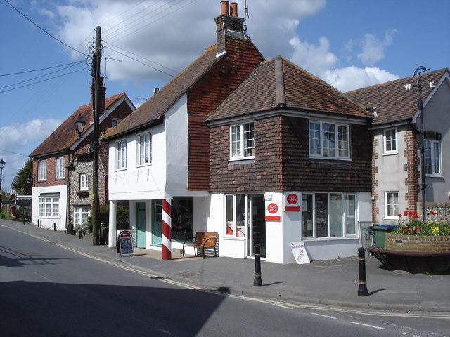 Upper Beeding - post office on the High Street