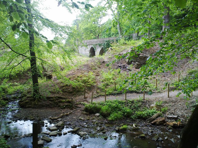The Handley Cross bridge, Hamsterley