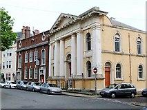 SY6878 : Weymouth: the Baptist Chapel, Bank Buildings, South Esplanade by Stefan Czapski