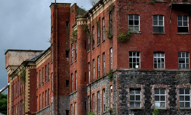 Former Barbour's Mill. Hilden (5)