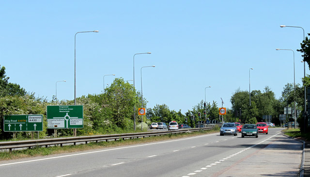 2011 : A4174 Avon Ring Road, looking east
