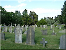 SU5707 : Wickham Road Cemetery (5) by Basher Eyre