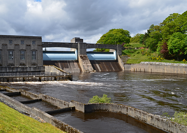 Pitlochry Hydro-electric dam