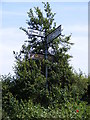 TM3456 : Roadsign on Station Road by Adrian Cable