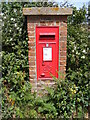 TM3556 : Church Corner George VI Postbox by Adrian Cable