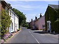 TM3655 : B1078 Orford Road, Tunstall by Adrian Cable