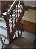 ST5071 : Staircase, Tyntesfield House by Derek Harper
