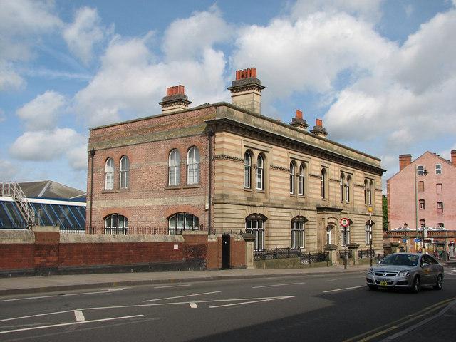 Carrington Street: former Midland Railway Goods Offices by John Sutton
