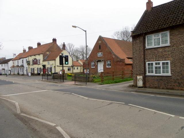 Village scene, Great Smeaton