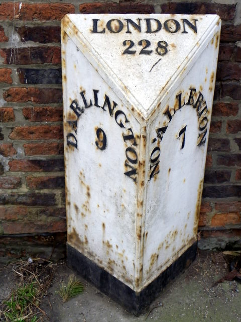 Milepost, Great Smeaton