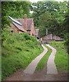 ST5071 : Sawmill, Tyntesfield by Derek Harper