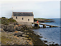 SH5186 : Moelfre Lifeboat Station by David Dixon