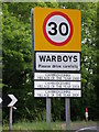 TL3079 : Warboys, Village of the year previously by Michael Trolove