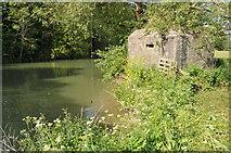 SU2598 : Pillbox near Eaton Hastings by Philip Halling