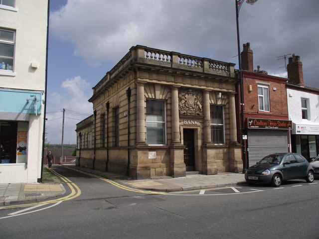 Stone building in Tyldesley