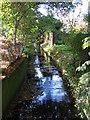TQ4270 : The Kyd Brook by Sundridge Avenue, BR7 (4) by Mike Quinn