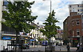 SK5739 : Friar Lane, Nottingham (Domesday 1986 comparison) by Alan Murray-Rust
