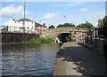 SK5738 : Meadow Lane - Bridge No 1 on the Nottingham Canal by John Sutton