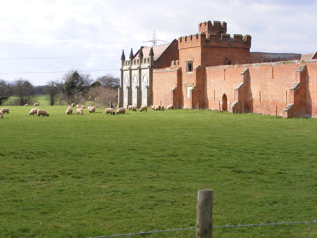 Sundorne Castle Wall