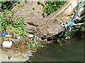 SU1329 : Litter, River Nadder by Maigheach-gheal