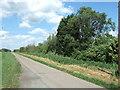 TL3386 : Puddock Road crossing Tick Fen by Richard Humphrey
