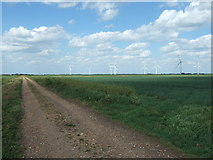 TL3382 : First Broadpool Drove near Warboys by Richard Humphrey